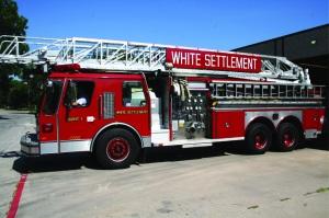 Fire truckcrop