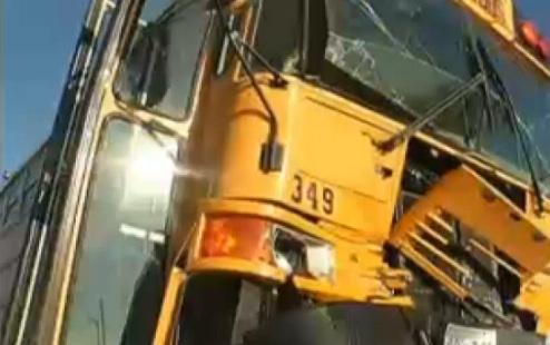 school bus front