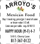 arroyo coupon
