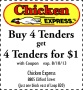 chick e coupon