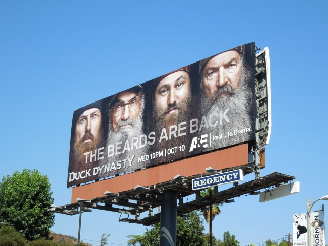 duck dynasty2 billboard