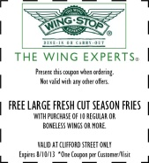 wing stop coupon