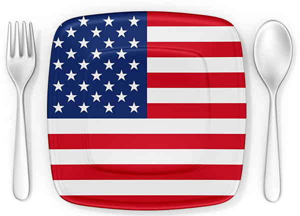 isolated-patriotic-plate