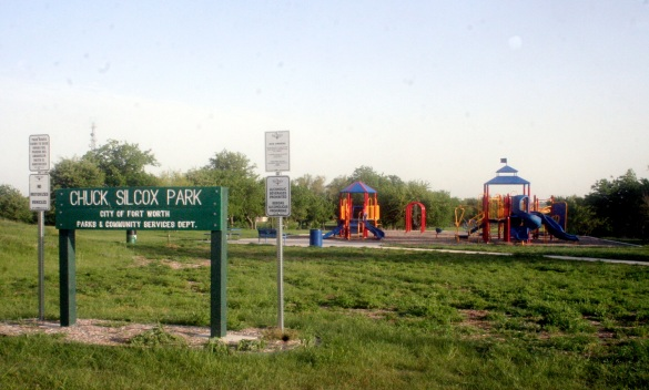 The Chuck Silcox Park in West Fort Worth.