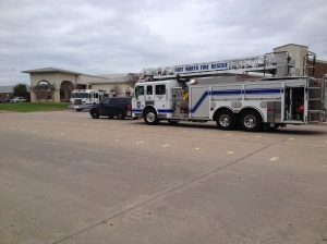 The Fort Worth Fire Department at North Elementary School in WSISD.