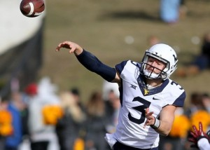 West Virginia Quarterback Skyler Howard.
