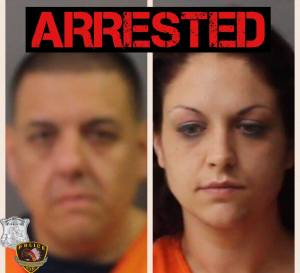 Perfecto Grimaldo (Left) and Melinda Delangel were arrested by WSPD.