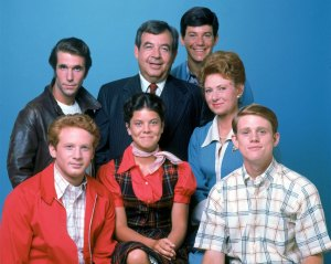 2. Happy Days cast. Anson Willliams, top right - ABC